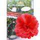Basil Flower Peony - pour cintre et cadre rouge